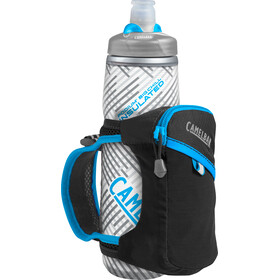 CamelBak Quick Grip Chill Handheld Water Bottle, black/atomic blue